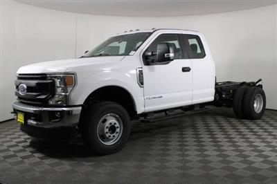 2020 Ford F-350 Super Cab DRW 4x4, Cab Chassis #RN21954 - photo 3