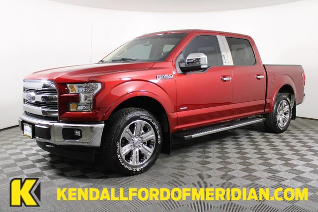 2017 Ford F-150 SuperCrew Cab 4x4, Pickup #RN22033A - photo 1