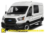 2020 Ford Transit 350 Med Roof AWD, Crew Van #RN22790 - photo 1