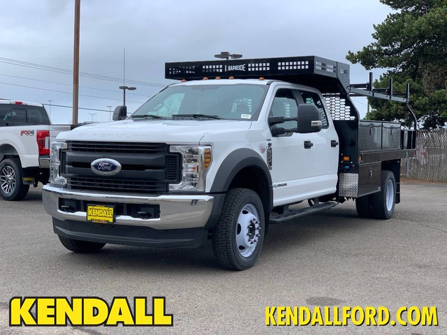 2019 F-550 Crew Cab DRW 4x4, Knapheide Platform Body #F37255 - photo 1