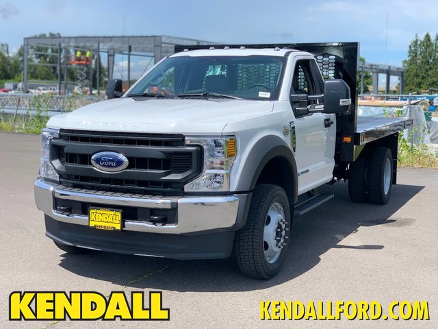 2020 Ford F-550 Regular Cab DRW 4x4, Knapheide Platform Body #F37577 - photo 1