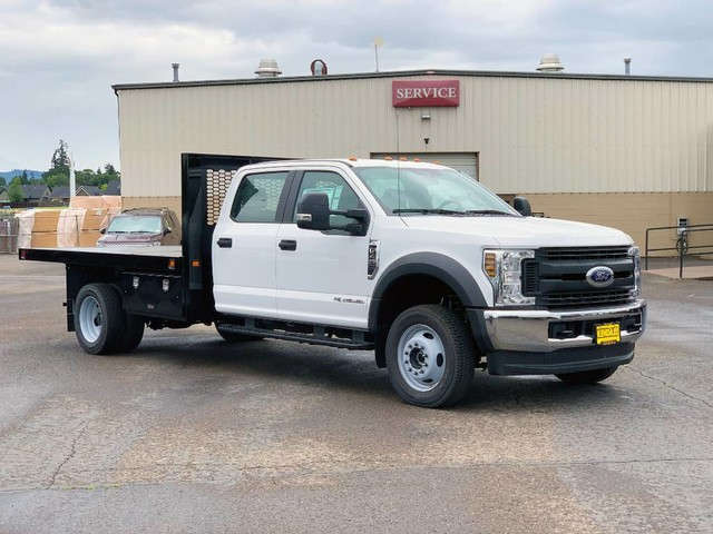 2019 Ford F-450 Crew Cab DRW 4x4, Knapheide Value-Master X Platform Body #F37582 - photo 4