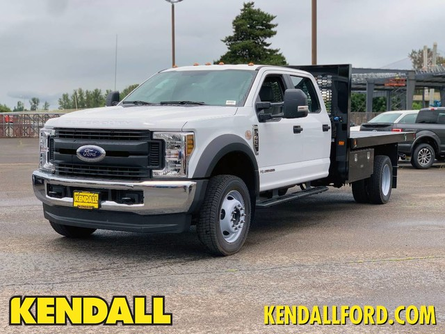 2019 Ford F-450 Crew Cab DRW 4x4, Knapheide Platform Body #F37582 - photo 1
