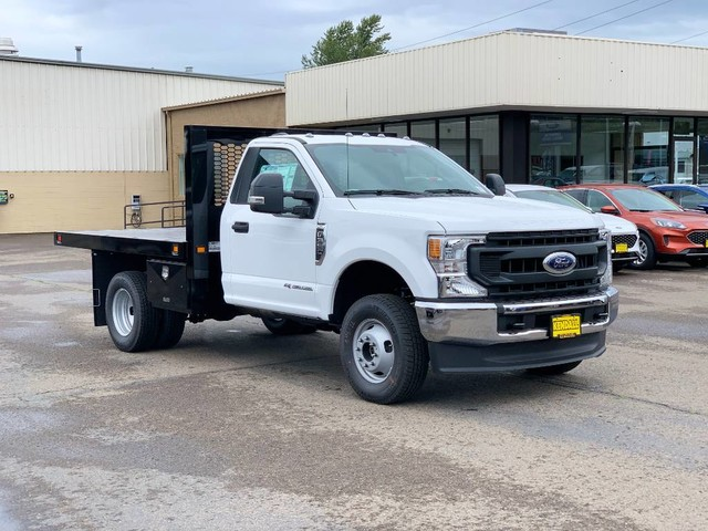2020 Ford F-350 Regular Cab DRW 4x4, Knapheide Value-Master X Platform Body #F37583 - photo 4