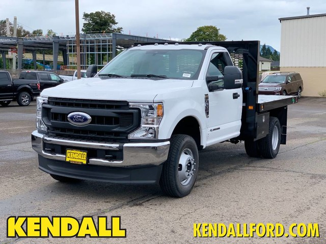 2020 Ford F-350 Regular Cab DRW 4x4, Knapheide Platform Body #F37583 - photo 1