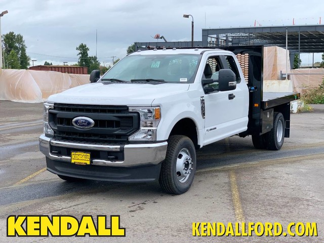 2020 Ford F-350 Super Cab DRW 4x4, Knapheide Platform Body #F37584 - photo 1