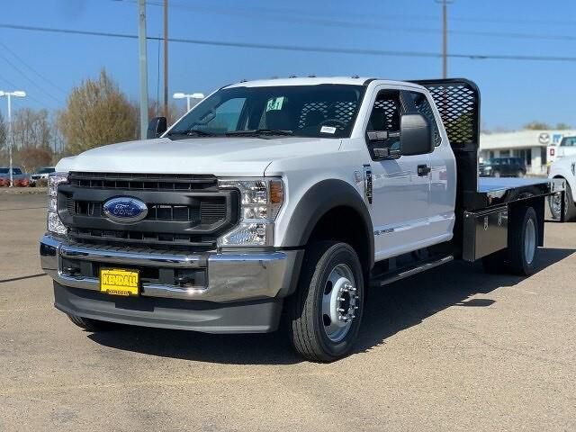 2021 Ford F-450 Super Cab DRW 4x4, Platform Body #F38524 - photo 1