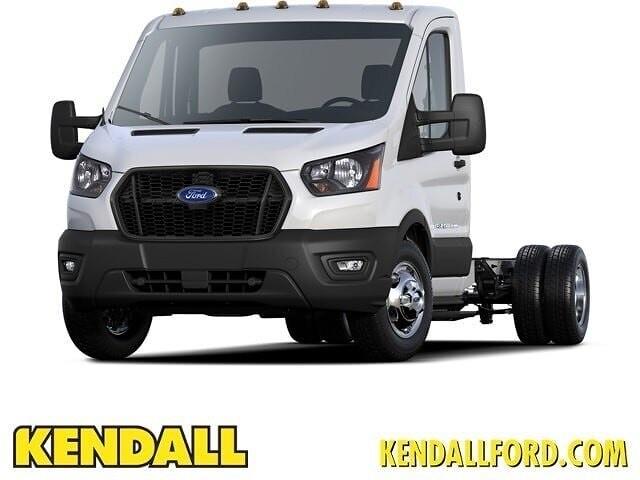 2021 Ford Transit 350 4x2, Cutaway #F38746 - photo 1