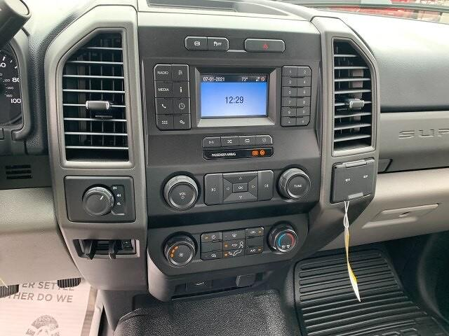 2021 Ford F-450 Regular Cab DRW 4x4, Platform Body #F38821 - photo 11