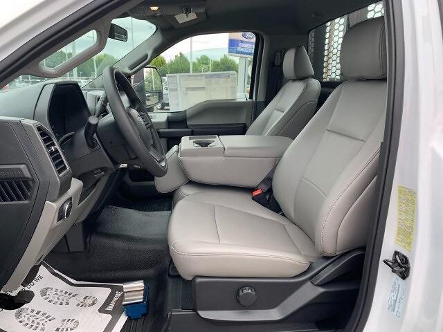 2021 Ford F-450 Regular Cab DRW 4x4, Platform Body #F38821 - photo 14