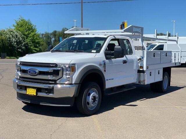 2021 Ford F-550 Super Cab DRW 4x4, Contractor Body #F38881 - photo 1