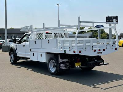 2021 Ford F-550 Super Cab DRW 4x4, Knapheide Contractor Body #F38885 - photo 2