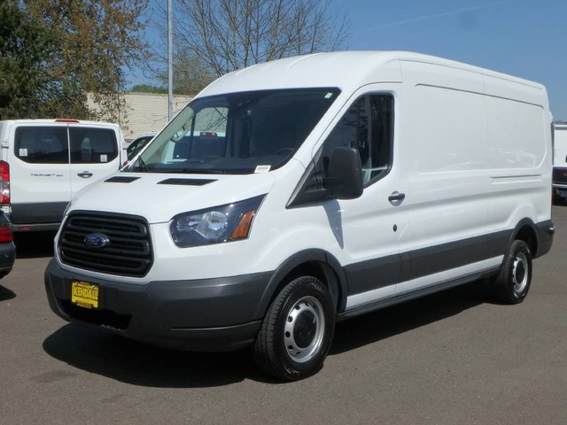 2018 Transit 250 Med Roof 4x2,  Empty Cargo Van #FU23230 - photo 1