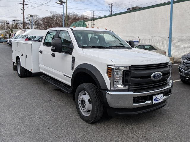 2018 F-550 Crew Cab DRW 4x4,  Reading Classic II Steel Service Body #40374 - photo 5