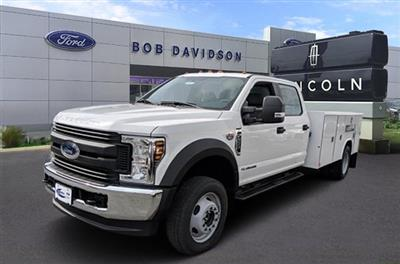 2018 F-550 Crew Cab DRW 4x4,  Reading Classic II Steel Service Body #40374 - photo 1