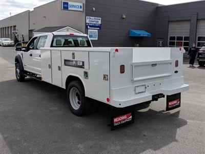 2018 F-550 Crew Cab DRW 4x4,  Reading Classic II Steel Service Body #40374 - photo 2