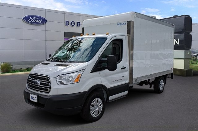 2018 Transit 350 4x2,  Dejana Truck & Utility Equipment Cutaway Van #41290 - photo 1