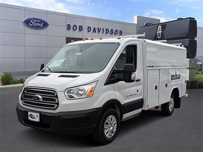 2019 Transit 350 4x2,  Reading Aluminum CSV Service Utility Van #45871 - photo 1