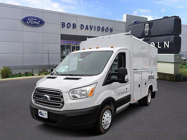 2019 Transit 350 HD DRW 4x2,  Reading Aluminum CSV Service Utility Van #45873 - photo 1