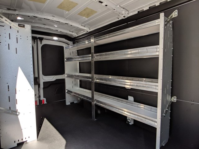 2019 Transit 250 Med Roof 4x2,  Ranger Design Base Shelving Upfitted Cargo Van #45961 - photo 9