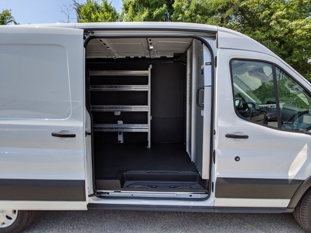 2019 Transit 250 Med Roof 4x2,  Ranger Design Base Shelving Upfitted Cargo Van #45963 - photo 8