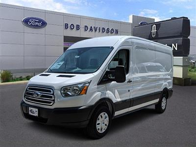 2019 Transit 250 Med Roof 4x2,  Ranger Design Base Shelving Upfitted Cargo Van #45963 - photo 1