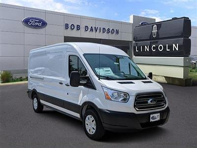 2019 Transit 250 Med Roof 4x2,  Ranger Design Base Shelving Upfitted Cargo Van #45963 - photo 5