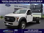 2019 F-550 Regular Cab DRW 4x4,  Cab Chassis #46235 - photo 1