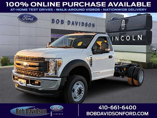 2019 F-550 Regular Cab DRW 4x4, Cab Chassis #46258 - photo 1