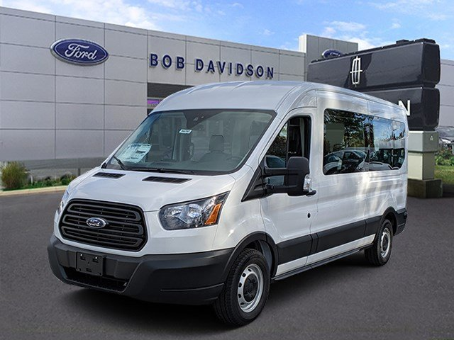2019 Transit 350 Med Roof 4x2, Passenger Wagon #46292 - photo 1