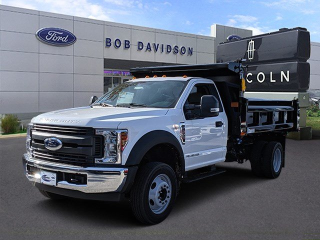 2019 F-550 Regular Cab DRW 4x2, Dejana Dump Body #46345 - photo 1