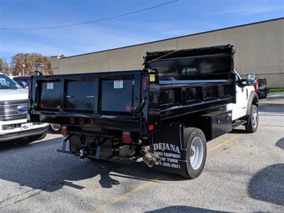 2019 F-550 Regular Cab DRW 4x2, Dejana Dump Body #46345 - photo 4
