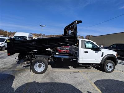 2019 F-550 Regular Cab DRW 4x2, Dejana Dump Body #46345 - photo 5