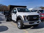 2019 F-550 Regular Cab DRW 4x2, Dejana Dump Body #46345 - photo 3