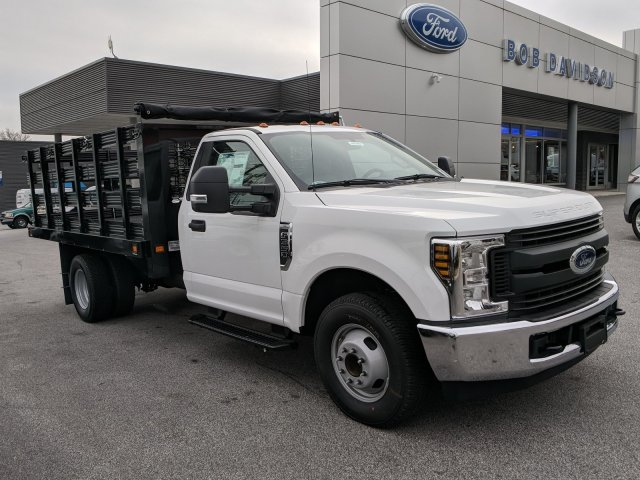 2019 F-350 Regular Cab DRW 4x2, Dejana Stake Bed #46383 - photo 1