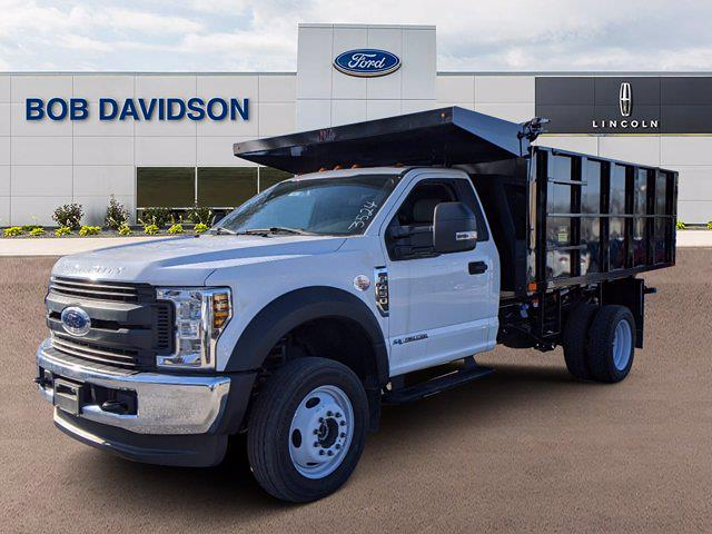 2019 Ford F-450 Regular Cab DRW 4x4, PJ's Landscape Dump #46444 - photo 1