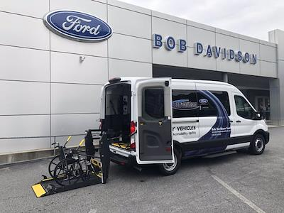 2020 Ford Transit 350 Med Roof RWD, Passenger Wagon #50326 - photo 3