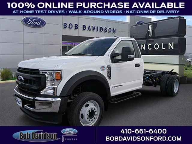 2020 F-550 Regular Cab DRW 4x2, Cab Chassis #50395 - photo 1