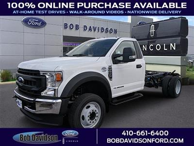2020 Ford F-550 Regular Cab DRW 4x2, Cab Chassis #50395 - photo 1