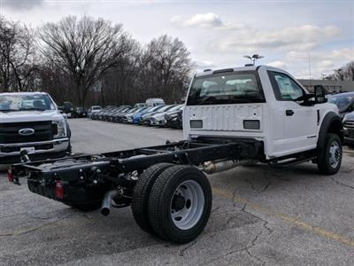 2020 F-550 Regular Cab DRW 4x2, Cab Chassis #50395 - photo 3