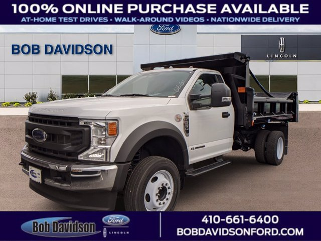 2020 Ford F-550 Regular Cab DRW 4x2, Cab Chassis #50399 - photo 1