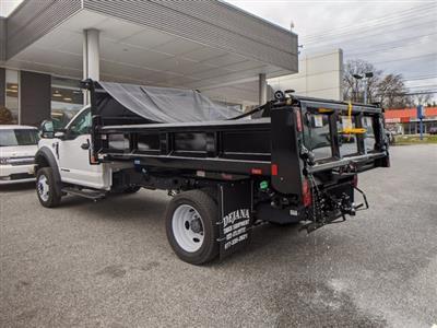 2020 Ford F-550 Regular Cab DRW 4x2, Rugby Eliminator LP Steel Dump Body #50399 - photo 2