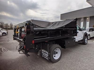 2020 Ford F-550 Regular Cab DRW 4x2, Rugby Eliminator LP Steel Dump Body #50399 - photo 5