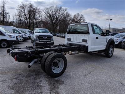2020 Ford F-550 Regular Cab DRW 4x2, Cab Chassis #50405 - photo 3