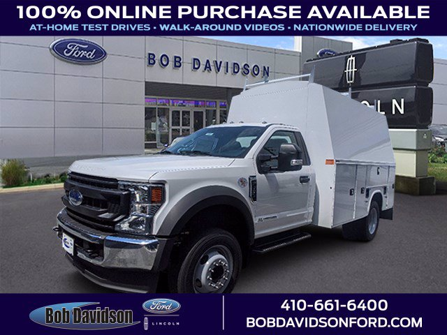2020 Ford F-550 Regular Cab DRW 4x2, Knapheide Service Body #50587 - photo 1