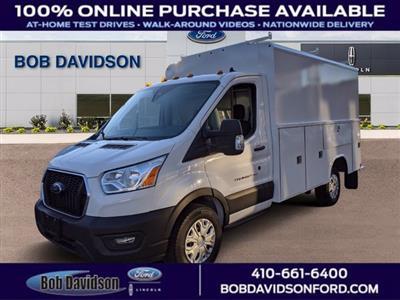 2020 Ford Transit 350 4x2, Reading Aluminum CSV Service Utility Van #50678 - photo 1