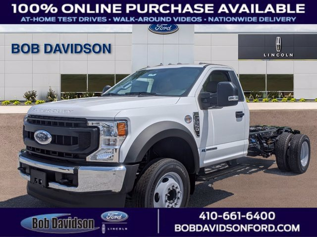 2020 Ford F-550 Regular Cab DRW 4x2, Cab Chassis #50737 - photo 1