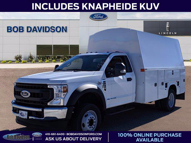 2020 Ford F-550 Regular Cab DRW 4x2, Knapheide Service Body #50739 - photo 1