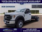 2020 Ford F-550 Regular Cab DRW 4x2, Cab Chassis #50795 - photo 1