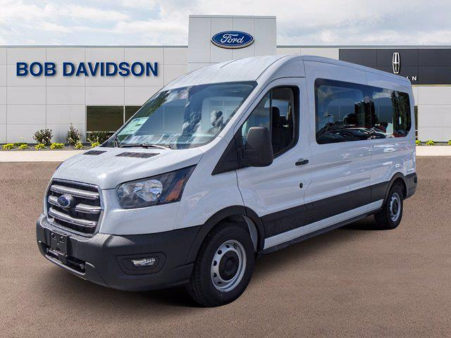 2020 Ford Transit 350 Med Roof 4x2, Passenger Wagon #50945 - photo 3